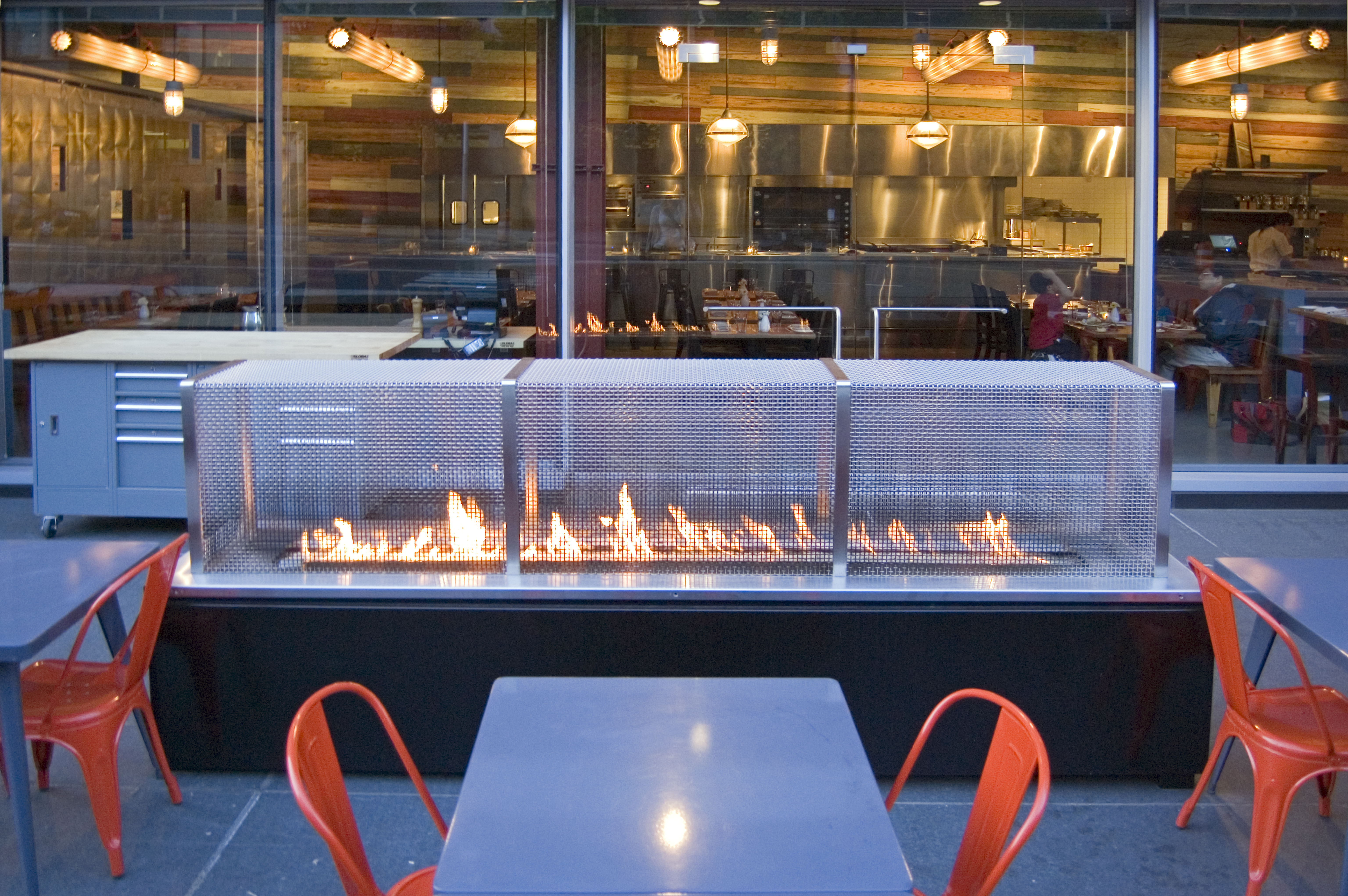 Fireside Dining at MidAtlantic – On The Level