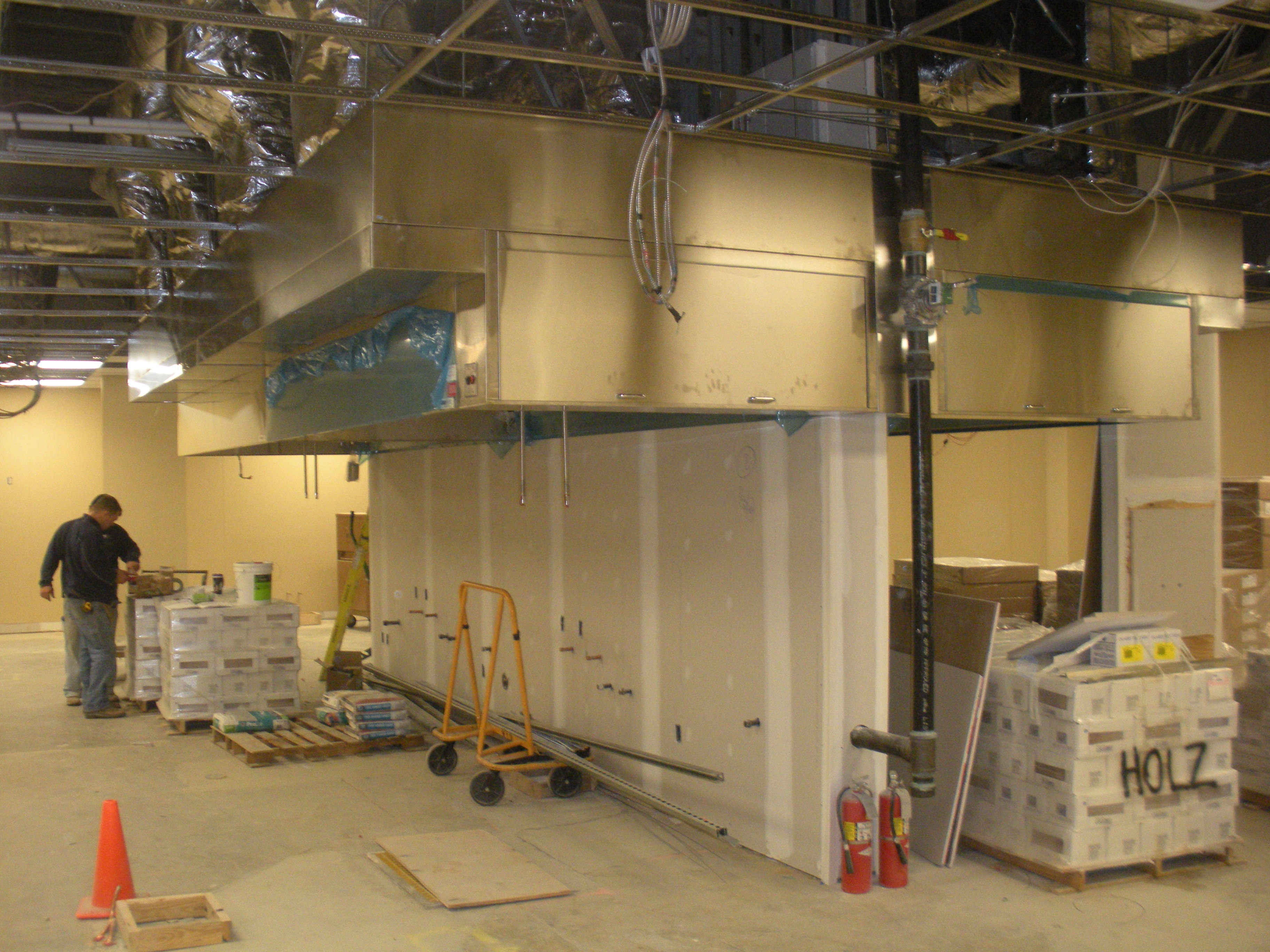Commercial Kitchen Construction : Renovation page on the level