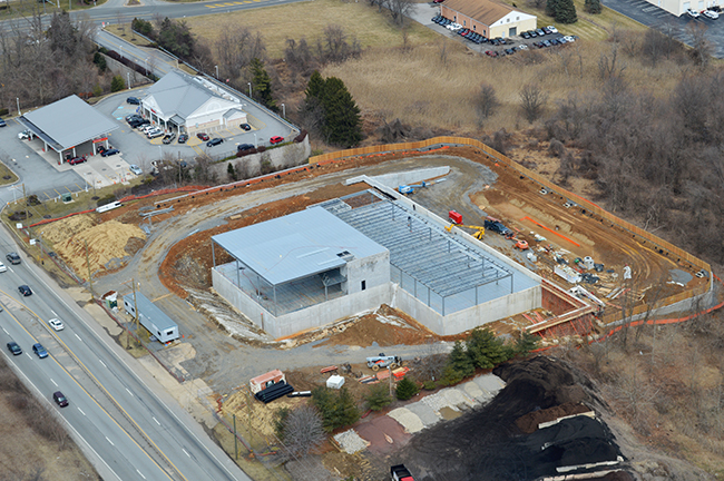 a different perspective {audi of west chester construction} | on the