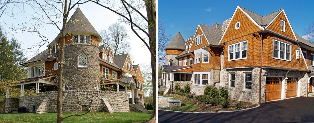 Shingle Style Victorian 2-Story Addition