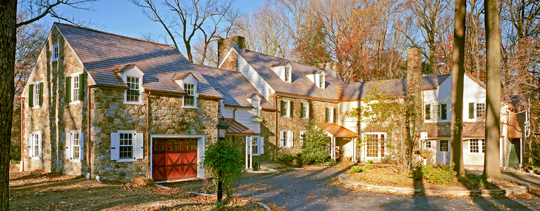 Stone Garage Addition in Chester County, PA
