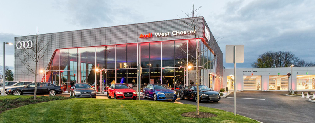 Dealership Construction Audi West Chester