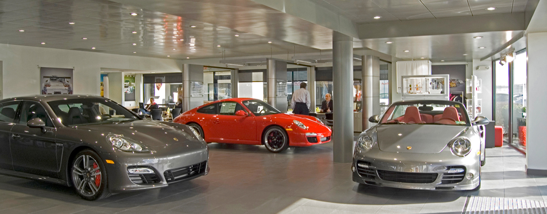Dealership FitOut Porsche Philadelphia
