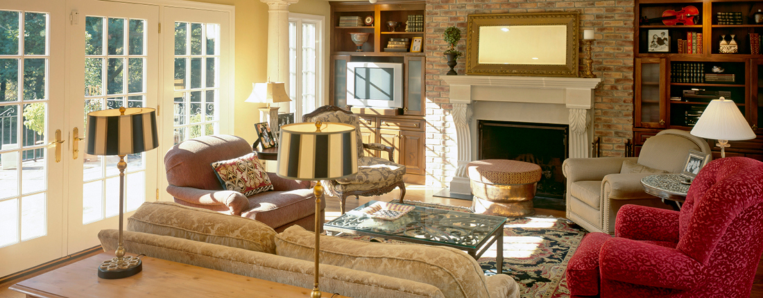 Traditional French Country Family Room Renvoation Conshohocken