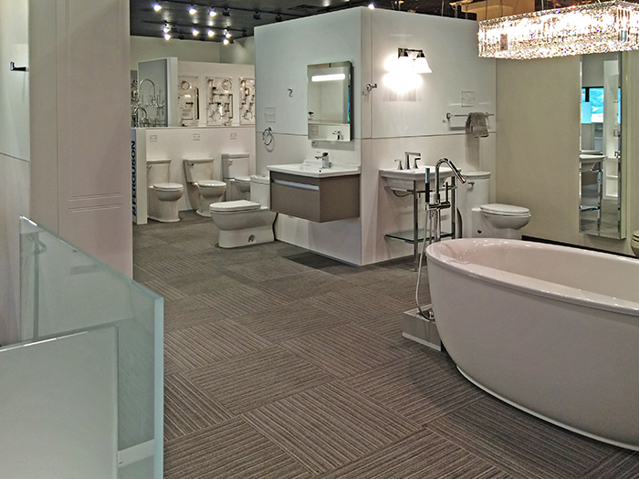 ferguson showroom renovation king of prussia on the level