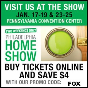 Philadelphia Home Show Discounted Tickets 2015