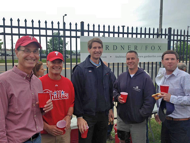 Phillies Subcontractor Party and MWOY Benefit