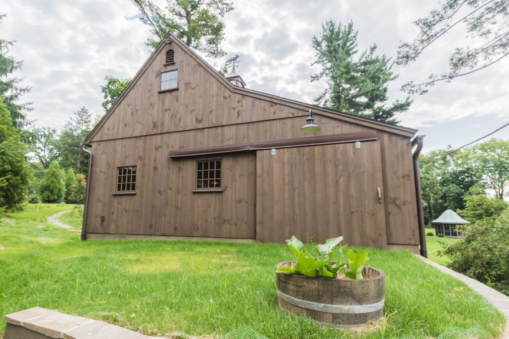 Project Spotlight: Rustic Garden Barn – On The Level