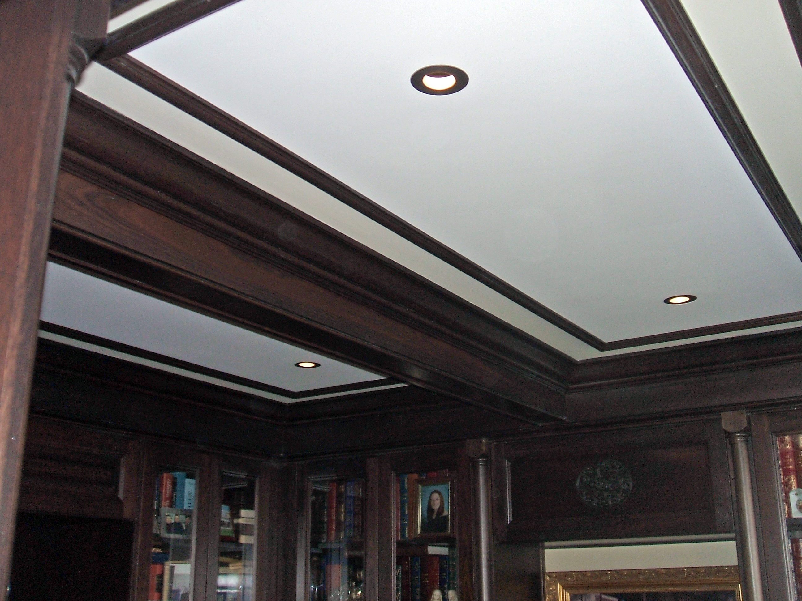 Library Coffered Ceiling