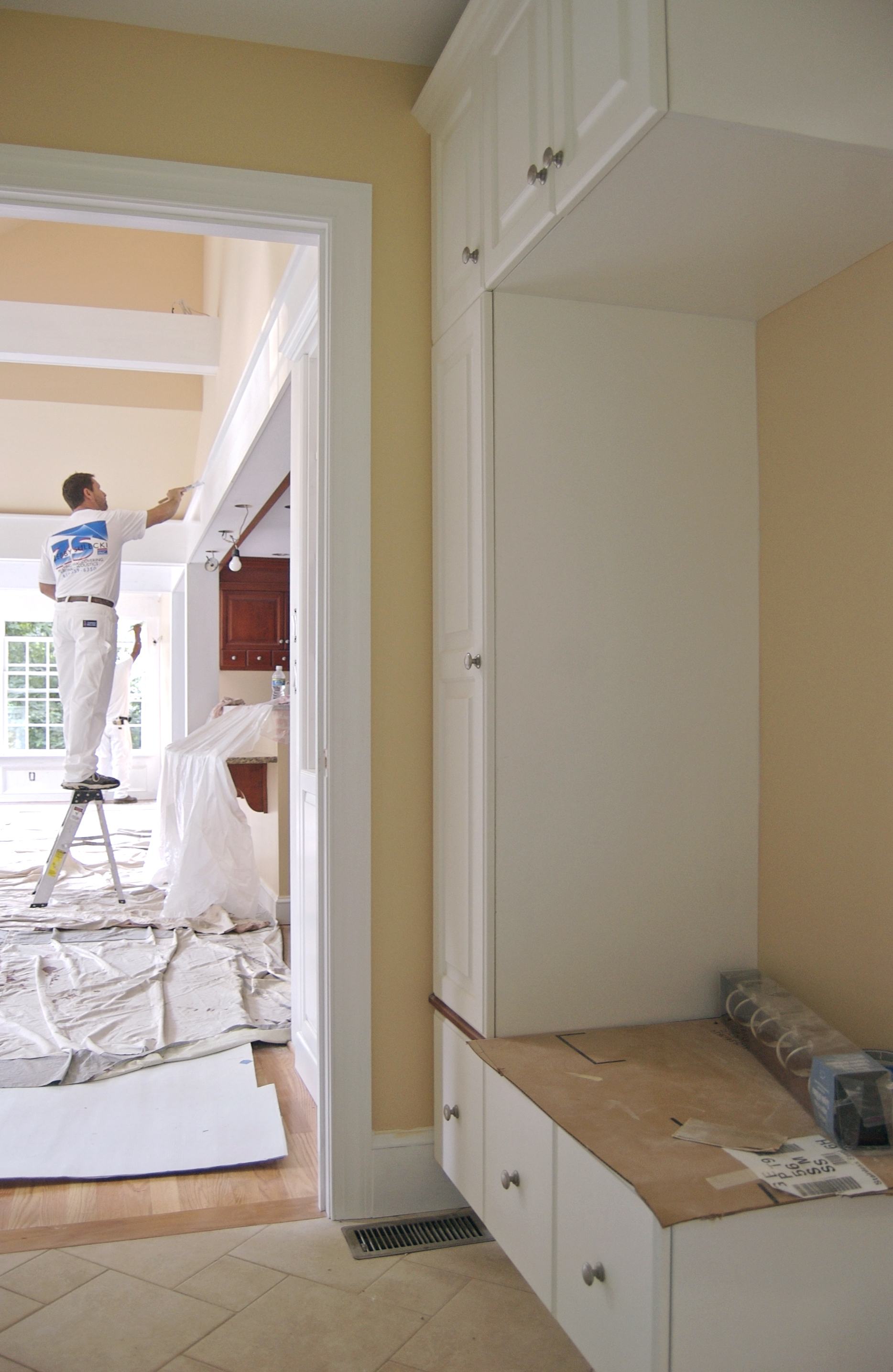 Mudroom Neutral Paint