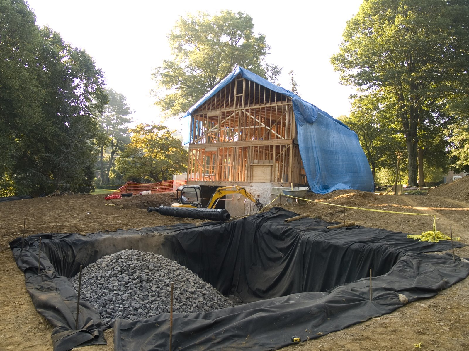 Seepage Pit | Whole House Renovation & Addition in Wayne, PA